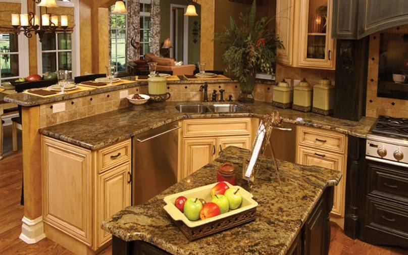 Kitchen Small Luxury Designs Well Managed House Plans 9439