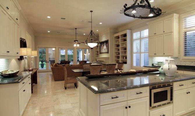Kitchen Toward Room Easy Open Layout