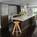 Kitchen Wooden Floor Remodel Plans