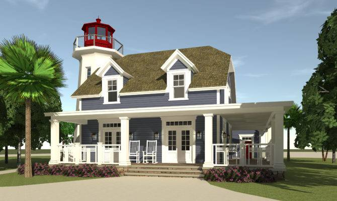 Kittee Lighthouse Plan Tyree House Plans