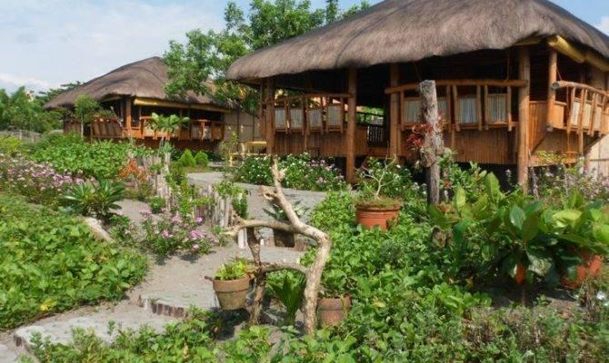 Kubo Modern Nipa Hutphilippines Interiors Philippines House