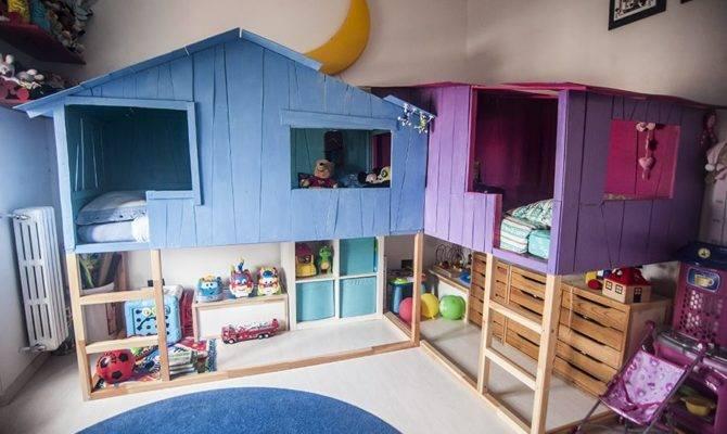 Kura Beds Transform Into Tree House Playland Ikea Hackers