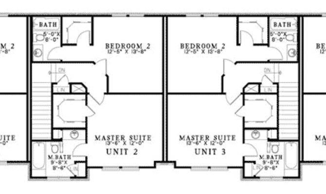 Laboure European Fourplex Home Plan House