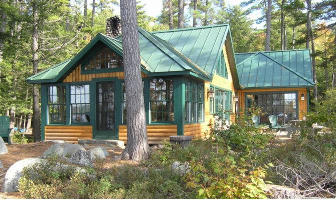 Lake Cabin After