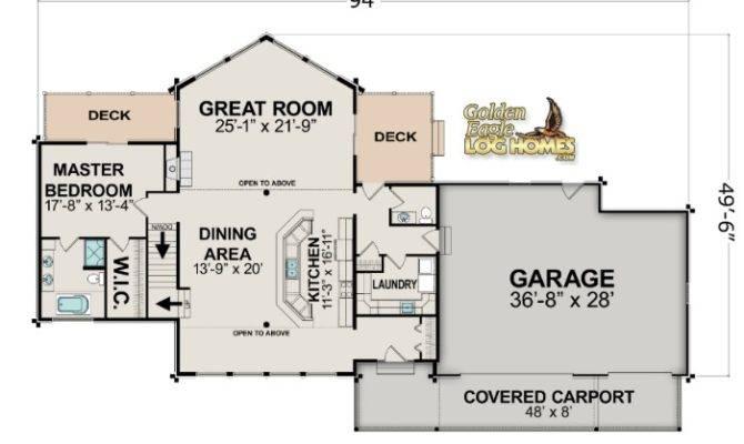 Lake Cabin Floor Plans Lakehouse Plan