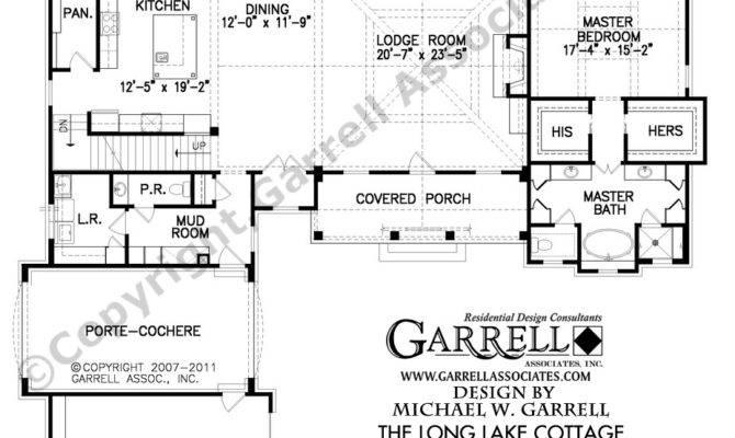 Lake House Cabin Floor Plans