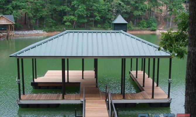 Lake House Deck Designs Boat Dock Building Plans