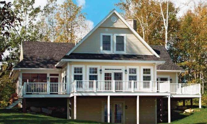 Lake House Plan