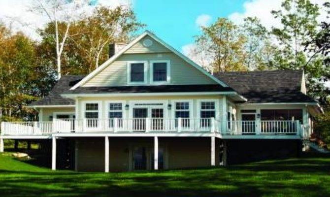 Lake House Plans Basement