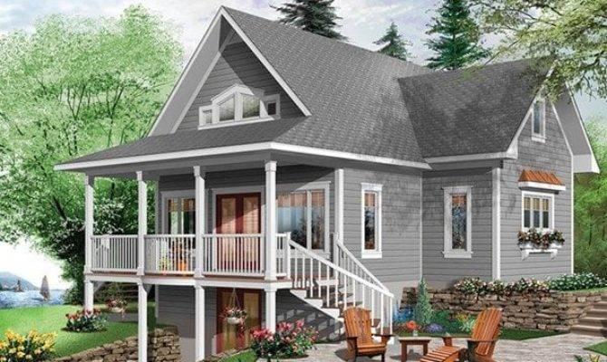 Lake House Plans Walkout Basement Fresh Brown Hill