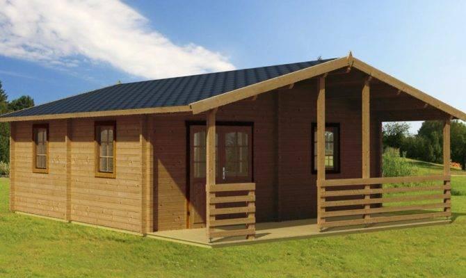 Lake House Premium Timberlog