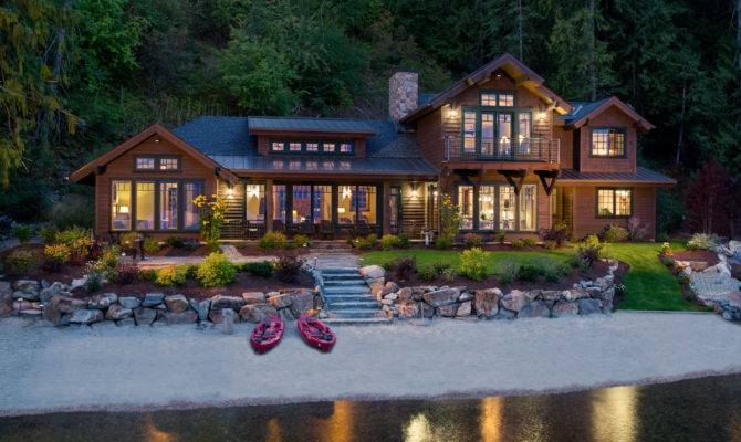 Lake House Sandpoint Idaho Mountain Architects