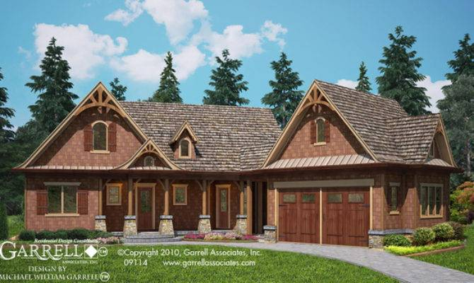 Lake Lodge Cottage House Plan Cabin Plans