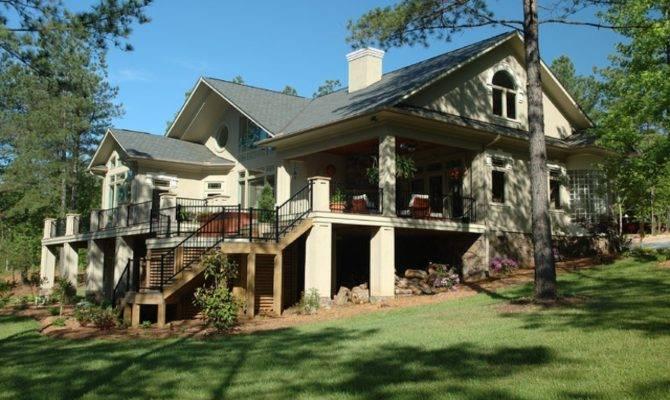 Lakefront Exterior Design Modern Homes