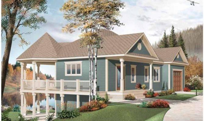 Lakefront Home Designs Plans Eplans Floor Plan