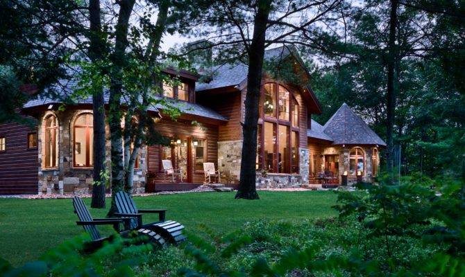 Lakefront Home Wisconsin Mountain Architects