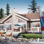 Lakefront House Plan Chp Coolhouseplans