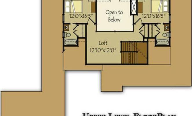 Lakefront House Plan Wraparound Porch Walkout
