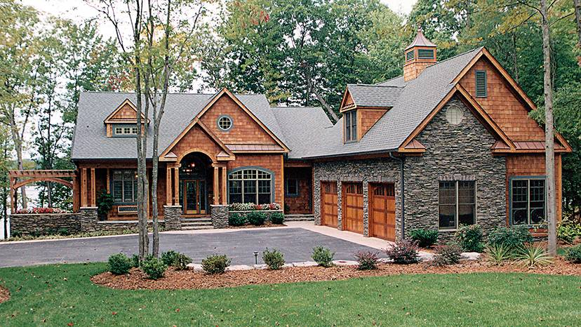 Awesome Lakefront House Plans With Walkout Basement 18 Pictures House Plans