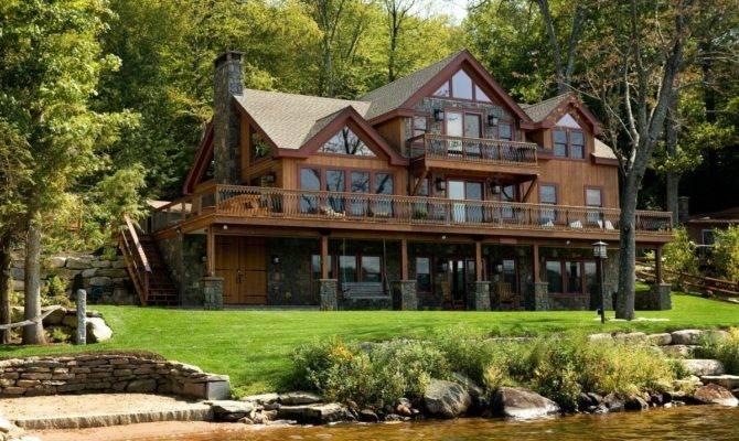 Lakeside Living All Fine Homebuilding