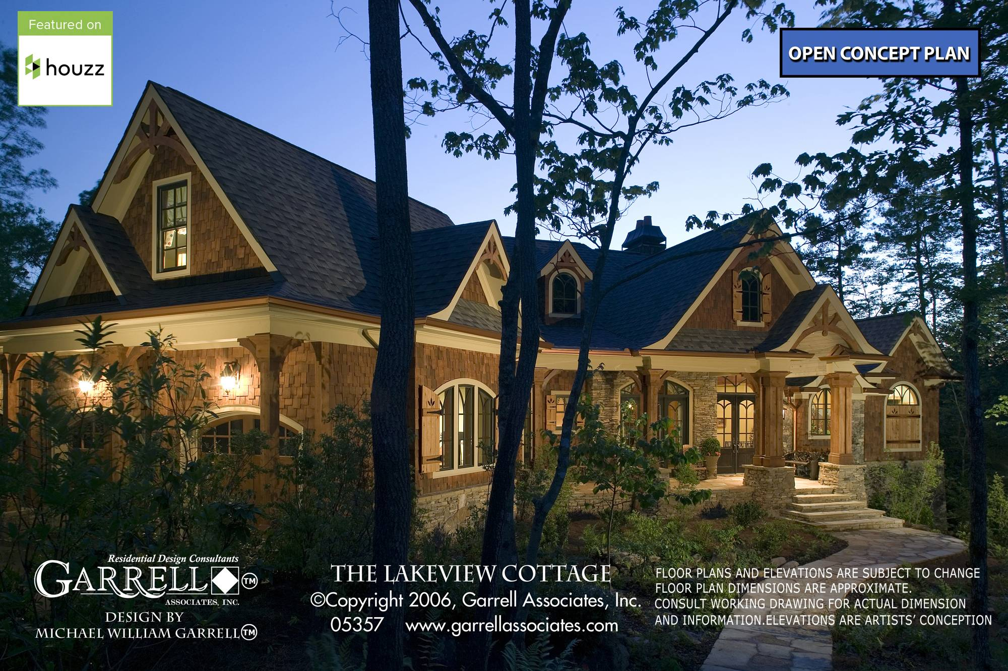 Lakeview Cottage House Plan Plans Garrell   House Plans   20