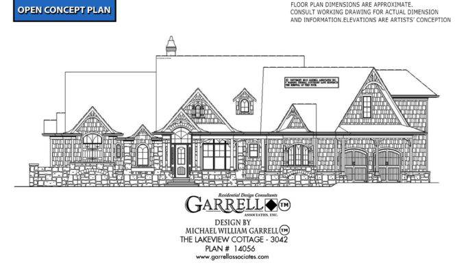 Lakeview Cottage House Plan Plans Garrell