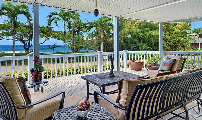 Lanai Beach House Iki Cottage Kauai Vacation Rentals