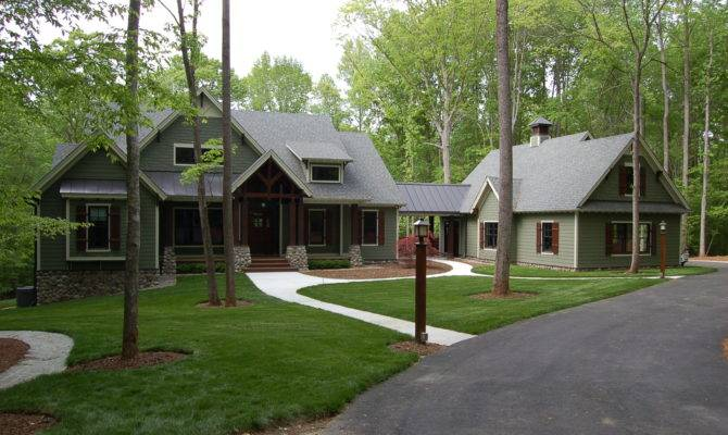 Landscaping Final Exteriors Modern Craftsman Style Home