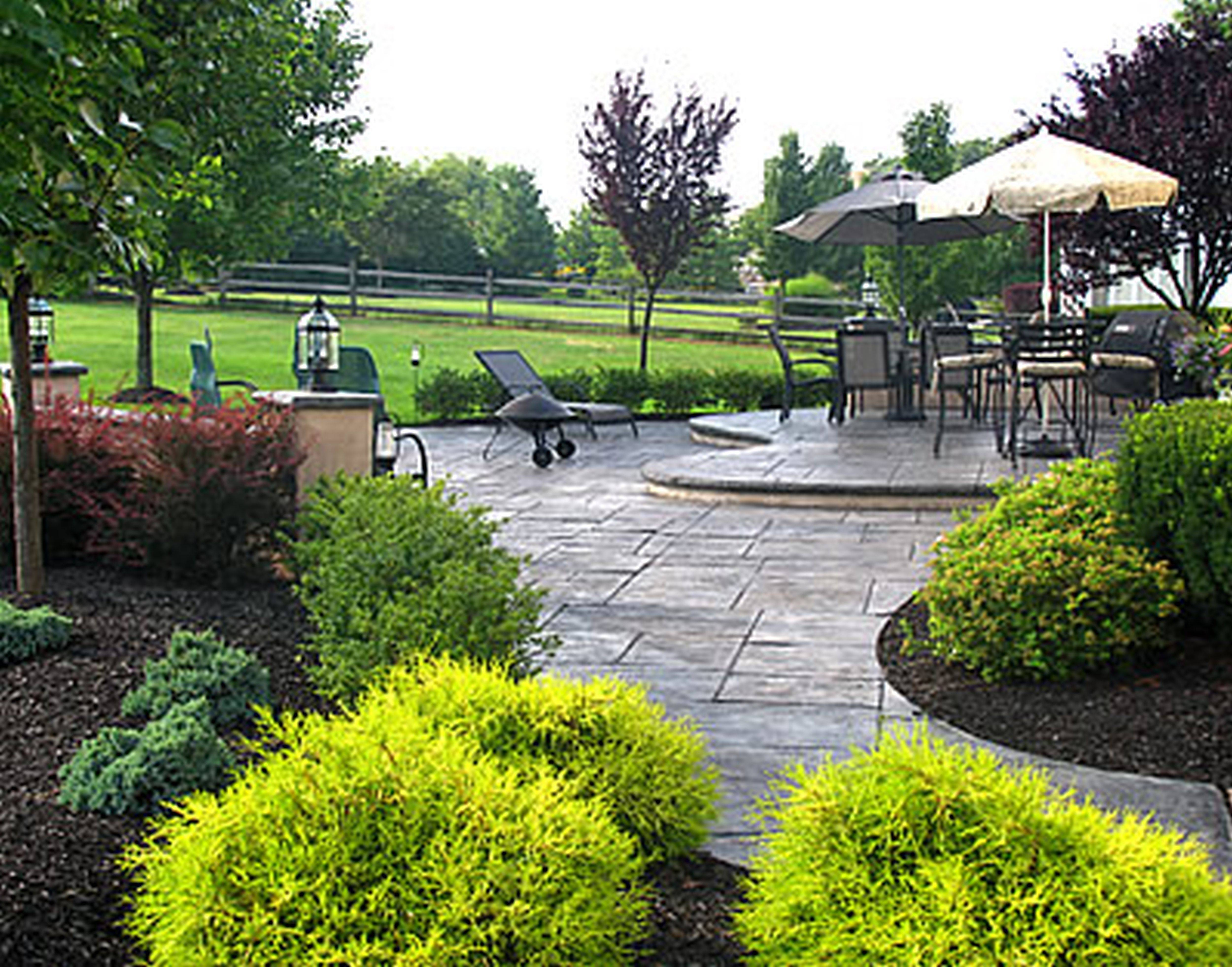 Landscaping Ideas Front Yard New England Garden Post House Plans