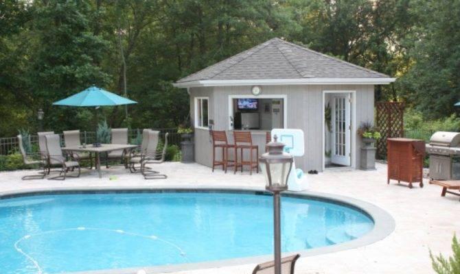 Landscaping Ideas Garden Pool House