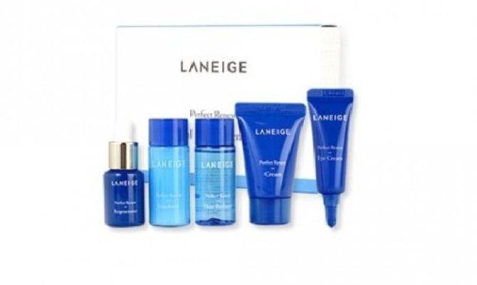 Laneige Perfect Renew Trial Kit Items New Version