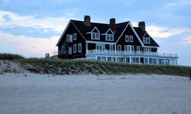 Large Beach House Can Dwarfed Some Larger Homes Along