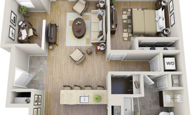 Large Bedroom Apartment Floor Plans Best One