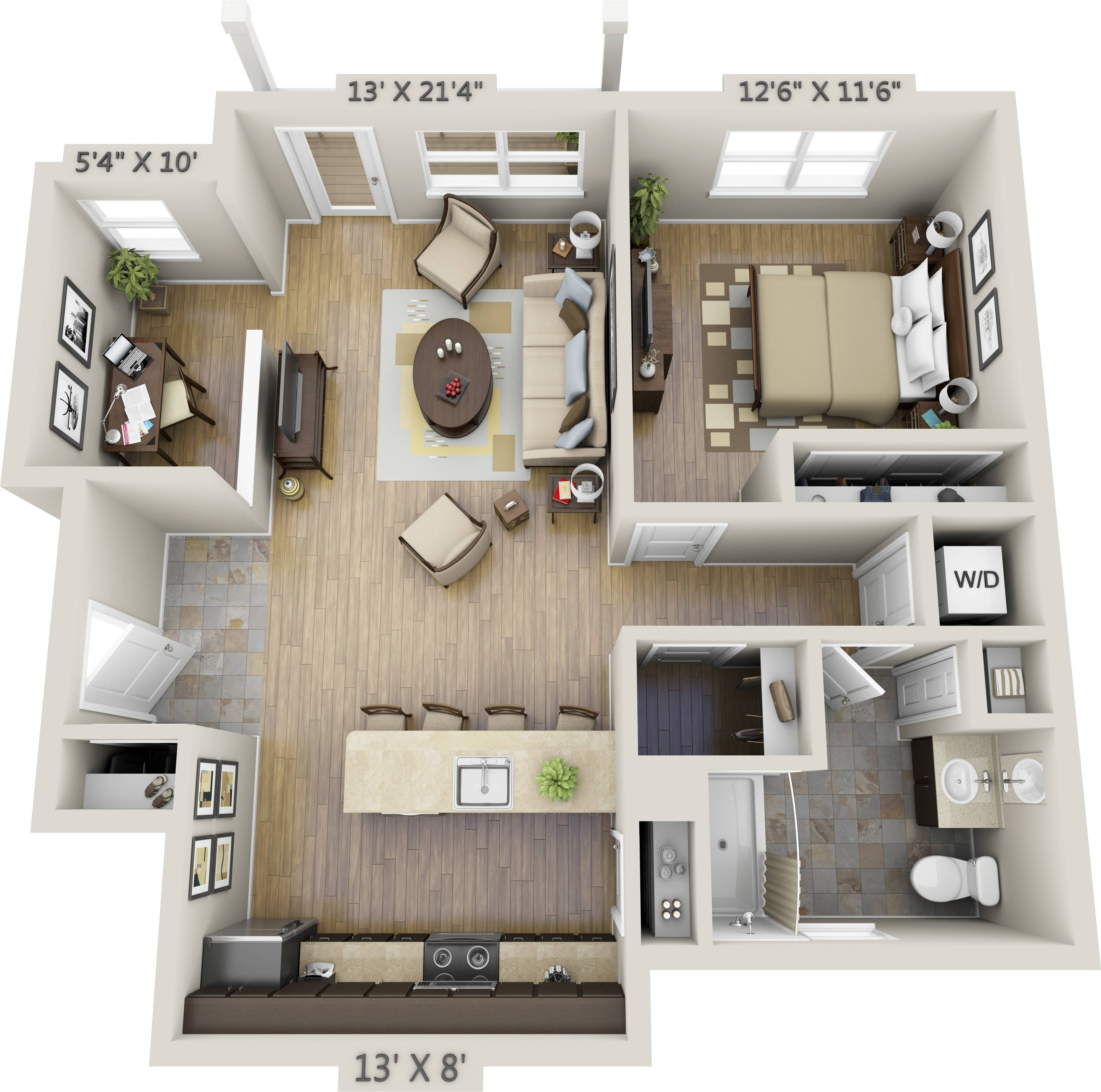 Large Bedroom Apartment Floor Plans Best One House Plans 121393
