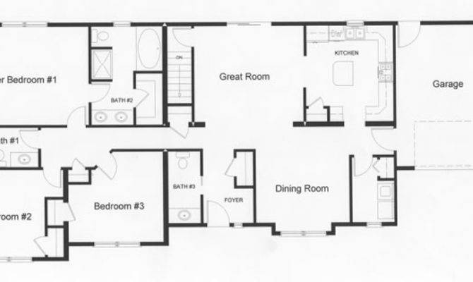 Large Bedrooms Left Side Home Provide Privacy
