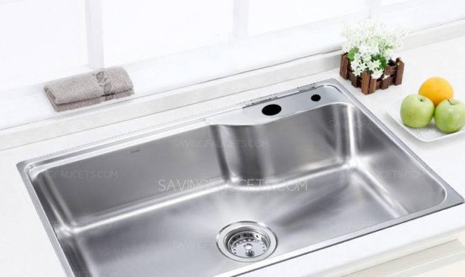 Large Capacity Single Bowl Kitchen Sink