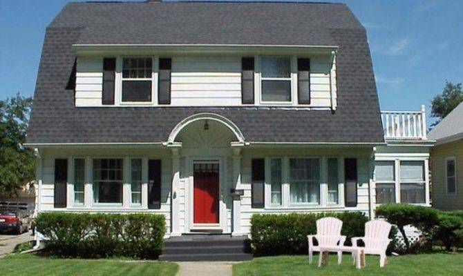 Large Dutch Colonial House Style Design