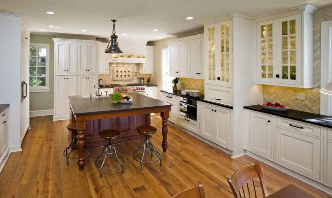 Large Kitchen Designs Ideas White Cabinet Mykitcheninterior