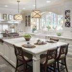 Large Kitchen Island Designs Seating Functional