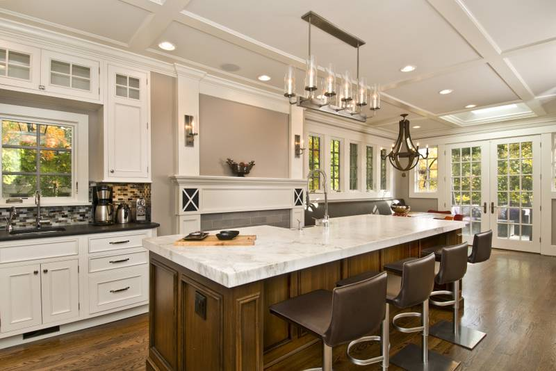 Large Kitchen Island Seating Storage Home Designs Project ...