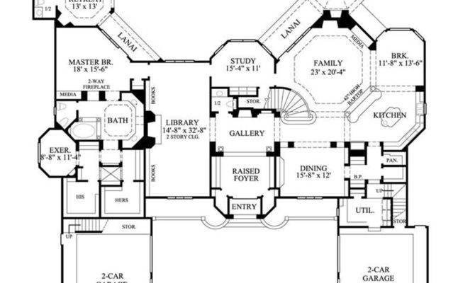 Large One Story House Plans Smalltowndjs