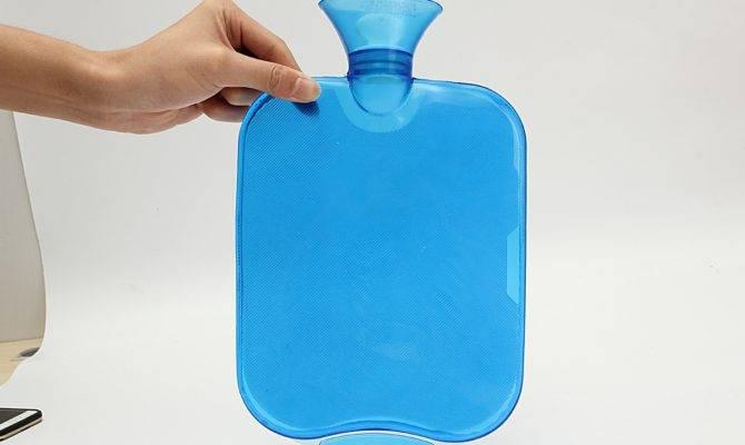 Large Pvc Rubber Hot Water Bottle Bag Winter Warm Relaxing