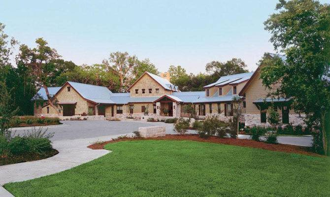 Large Texas Style Ranch House Plans Design