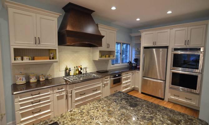 Large Transitional Oversized Island Kitchen Master