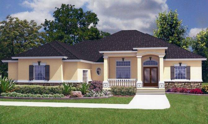 Large Vaulted Gathering Room Fireplace Beach House Plan Alp