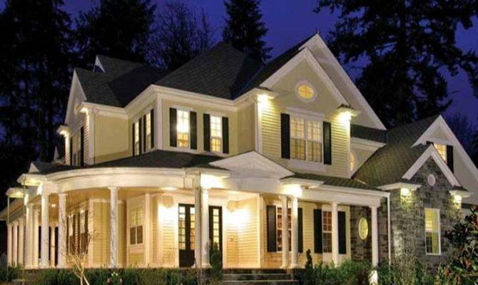 Large Wrap Around Front Porch Welcomes