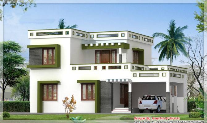 Latest Kerala Square House Design