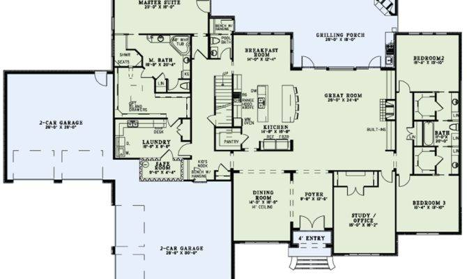 Laundry First Floor Plan House Home Decorating Diy
