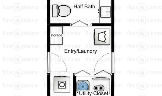 Laundry Floor Plan Brucall
