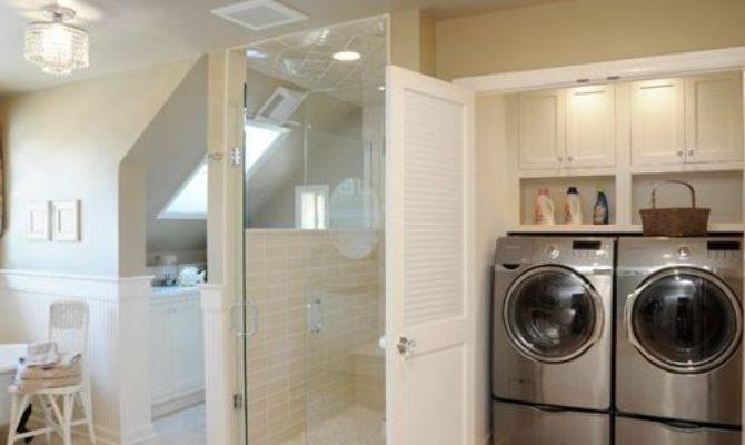 Laundry Master Closet Home Design Ideas